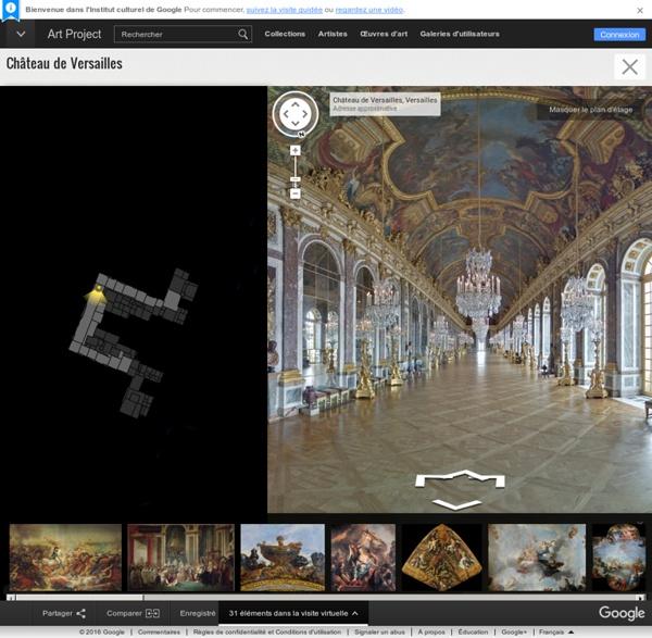 Palace of Versailles - Institut culturel de Google