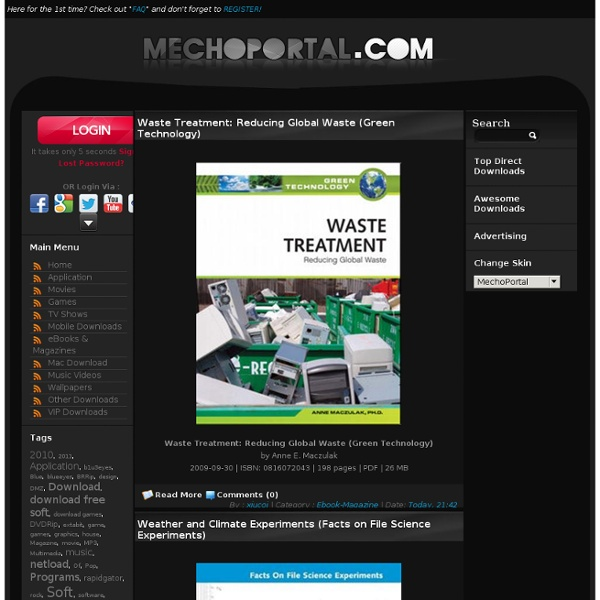 MechoPortal.Com - Free Software , Game , Movie , Music , Ebook ,