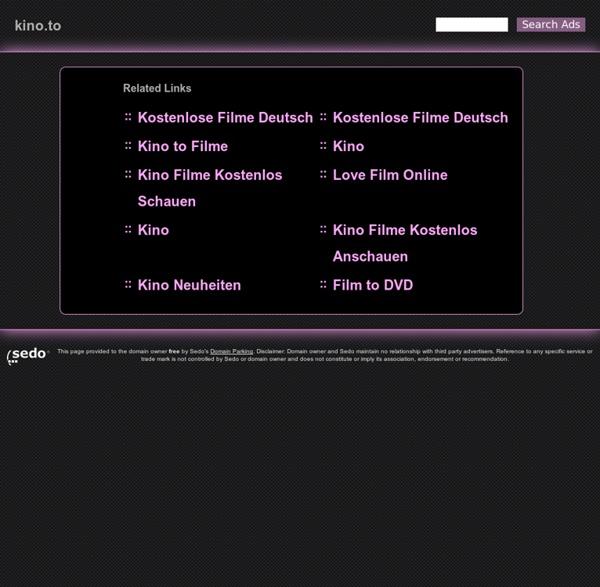 Kino.to - Filme, Serien & aktuelle Kinofilme ansehen und downloaden