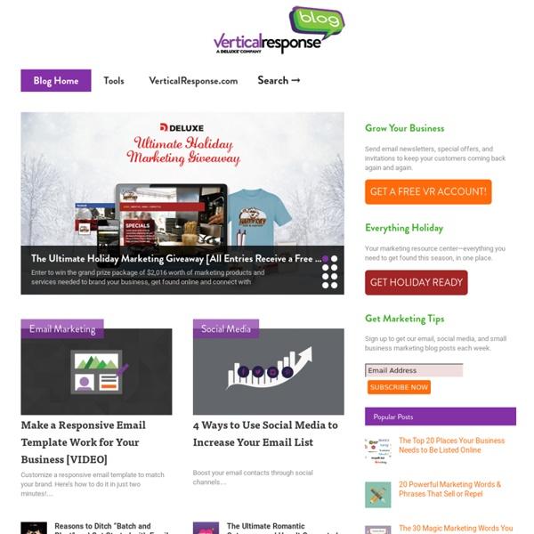 VerticalResponse Email Marketing Blog