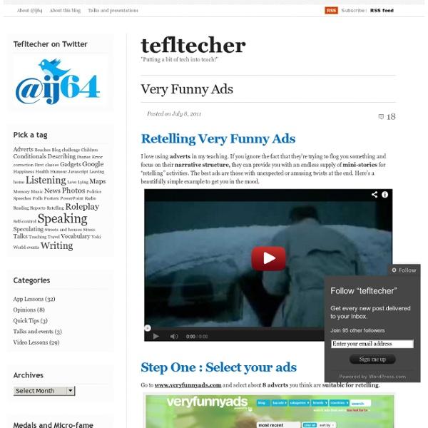Very Funny Ads « tefltecher