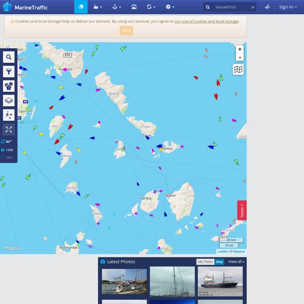 Live Ships Map - AIS - Vessel Traffic and Positions - AIS Marine Traffic