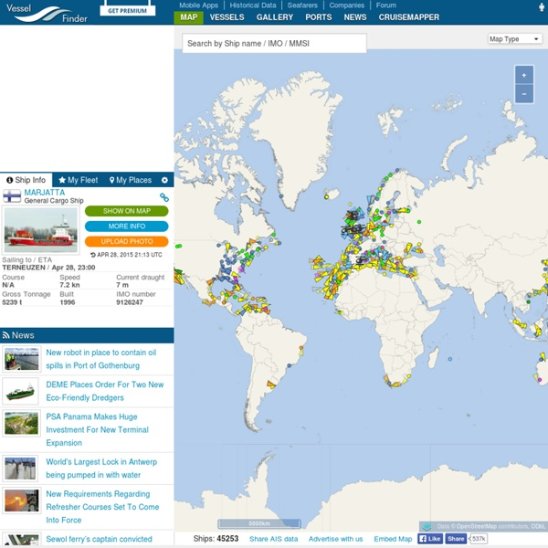 Vessel Finder - Free AIS Ship Tracking of Marine Traffic