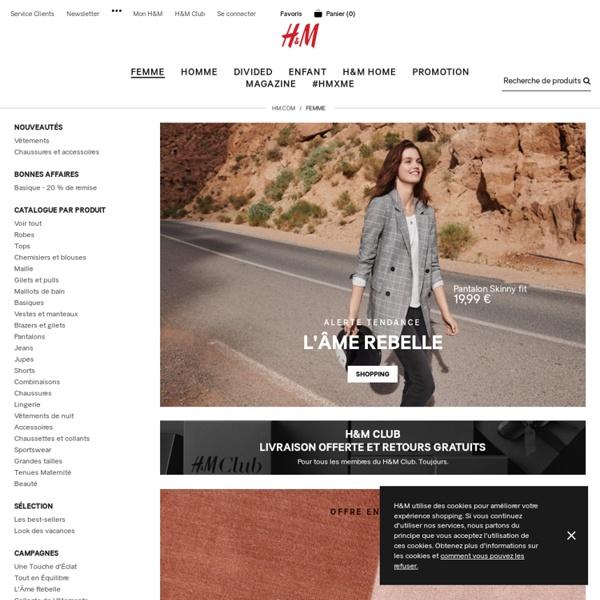 Mode et vêtements femme