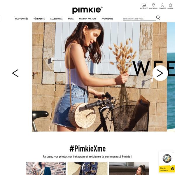 Pimkie France - Vêtements pour femme, boutiques jeans, actualités mode