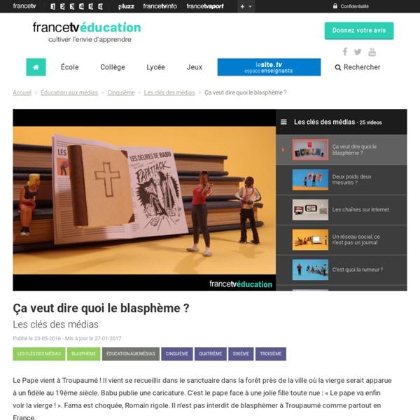Les clés des médias - France TV Education