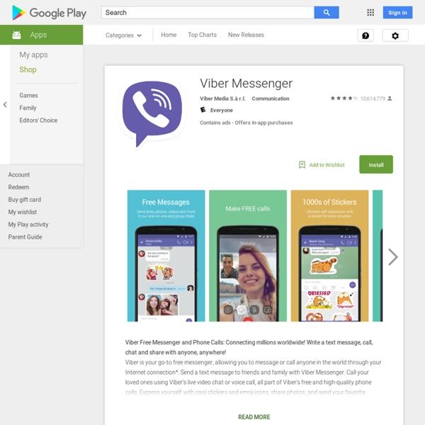 Viber : Free Messages & Calls