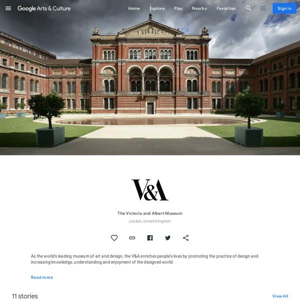 The Victoria and Albert Museum, London, United Kingdom