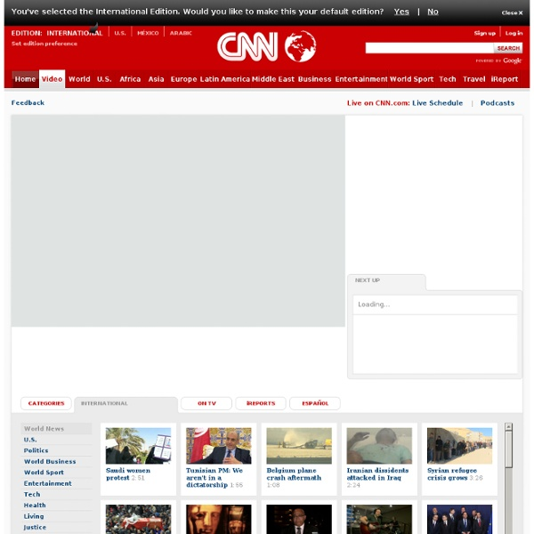 CNN Video - Breaking News Videos from CNN.com
