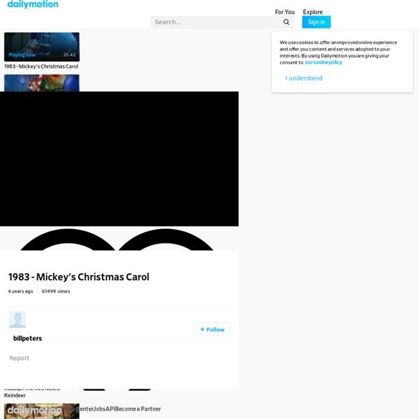 1983 - Mickey's Christmas Carol