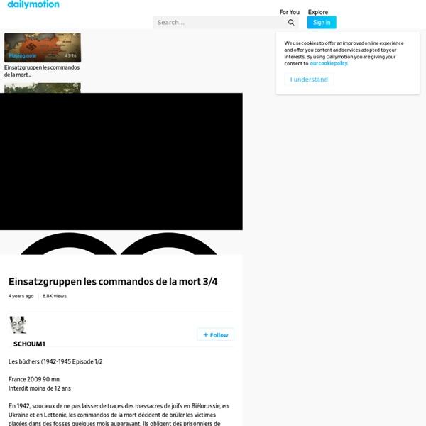 Einsatzgruppen les commandos de la mort 3/4