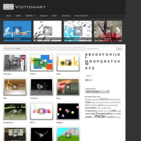 Video Dictionary: Vidtionary