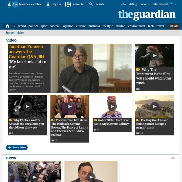 Video news and features