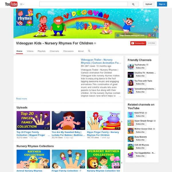 Videogyan Kids - Nursery Rhymes For Children