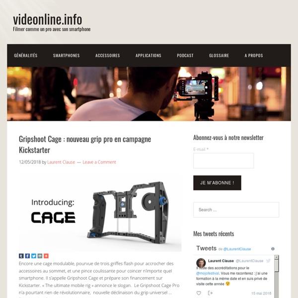 THE Site - Filmer comme un pro avec son smartphone