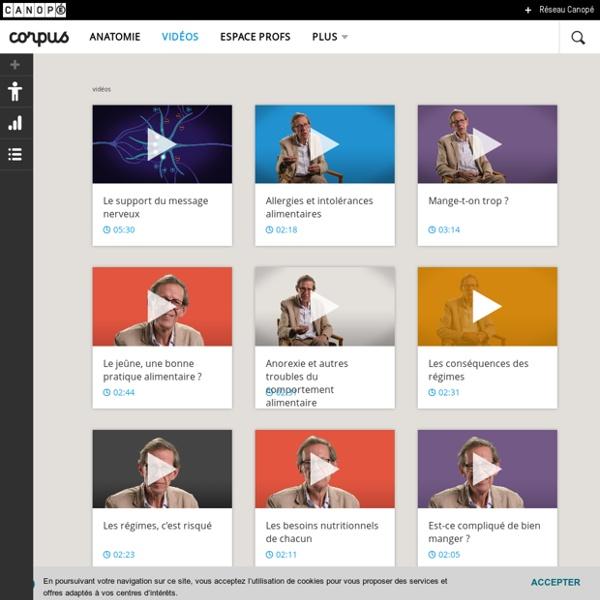 Videos - Corpus - réseau Canopé