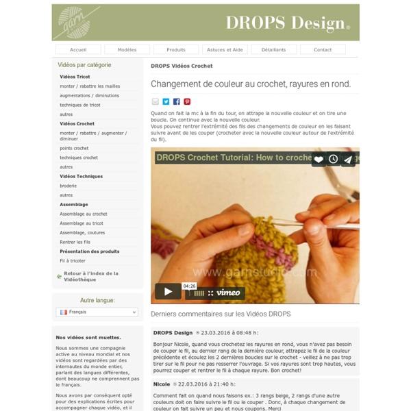 Vidéos d'initiation DROPS