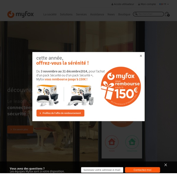 syst me d 39 alarme my fox alarme maison alarme sans fil vid osurveillance t l surveillance. Black Bedroom Furniture Sets. Home Design Ideas