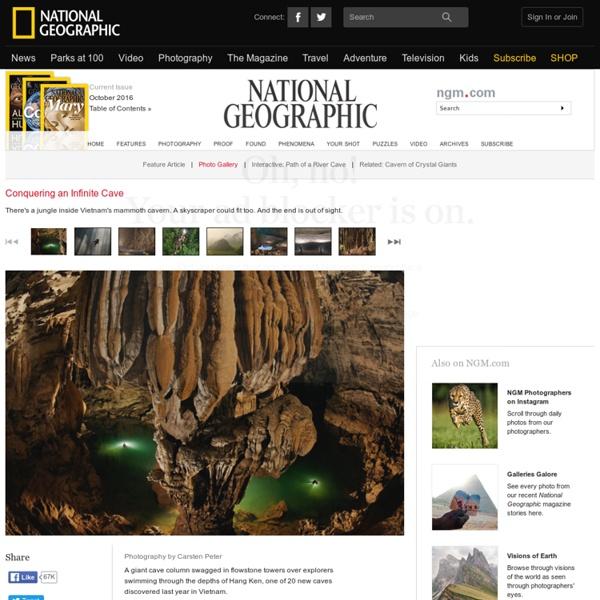 In Vietnam, World's Largest Cave Passage