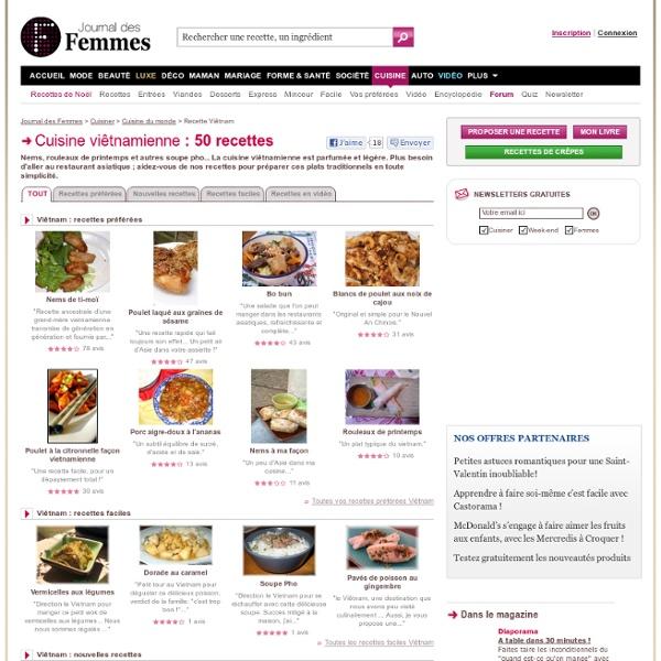 Cuisine viêtnamienne : les recettes gourmandes les mieux notées