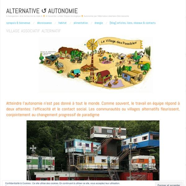 Village associatif alternatif
