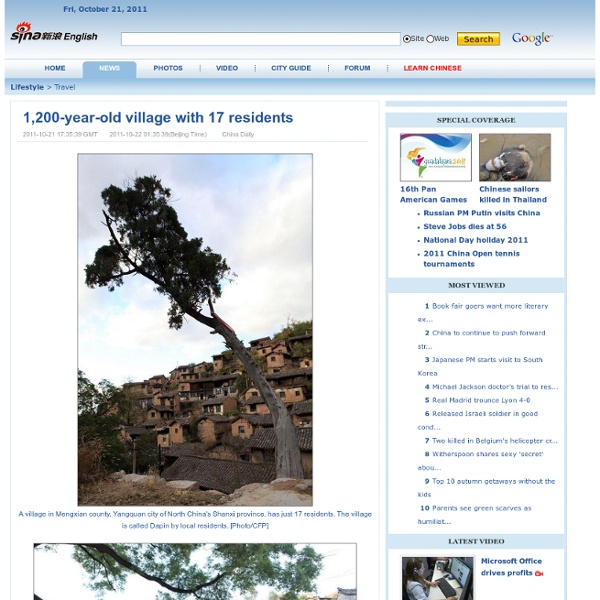 1,200-year-old village with 17 residents