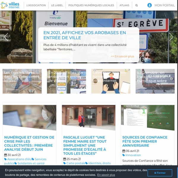 Villes Internet>Accueil
