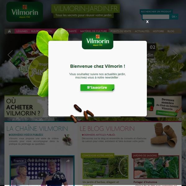 Tous les conseils pour trouver des plantes, créer, semer et entretenir le jardin - Vilmorin