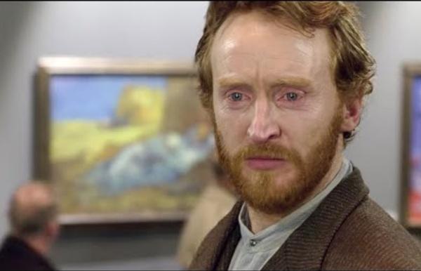 Vincent Van Gogh visite ses peintures au musée d'orsay.