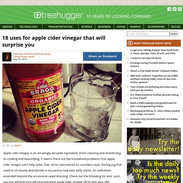 18 uses for apple cider vinegar that will surprise you