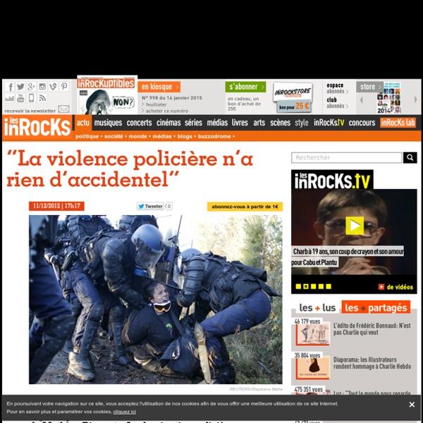 """""""La violence policière n'a rien d'accidentel"""""""