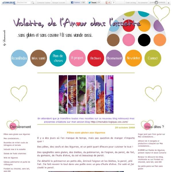 Violette, de l'Amour dans l'assiette