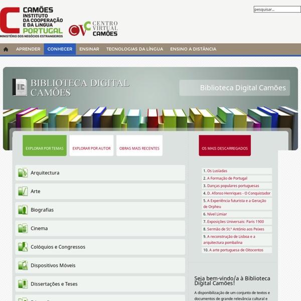 Centro Virtual Camões - Camões IP - Biblioteca Digital Camões