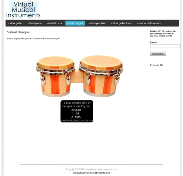 Play virtual musical instruments online at VirtualMusicalInstruments.com!