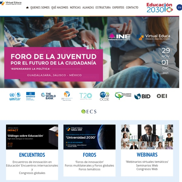 Virtual Educa - Programa OEA