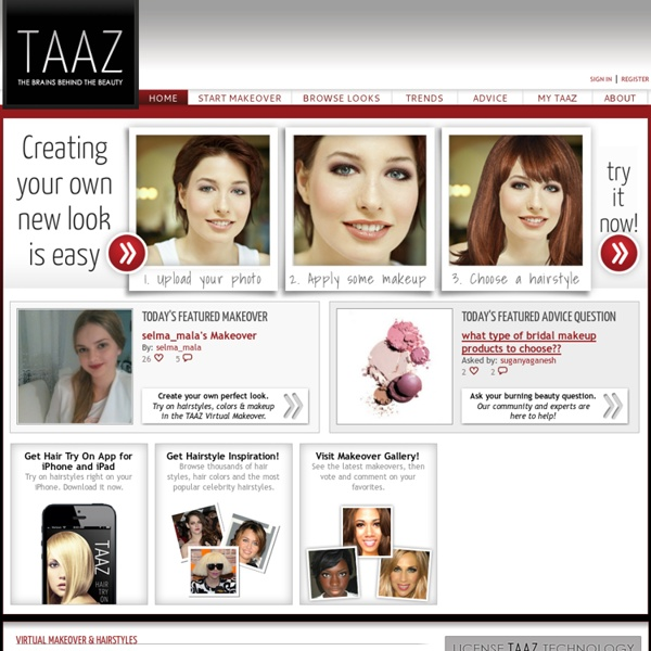 Virtual Makeover, Makeup, Skin Care, Hairstyles, Beauty & Fashion, Product Reviews