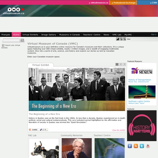 Virtual Museum of Canada (VMC)