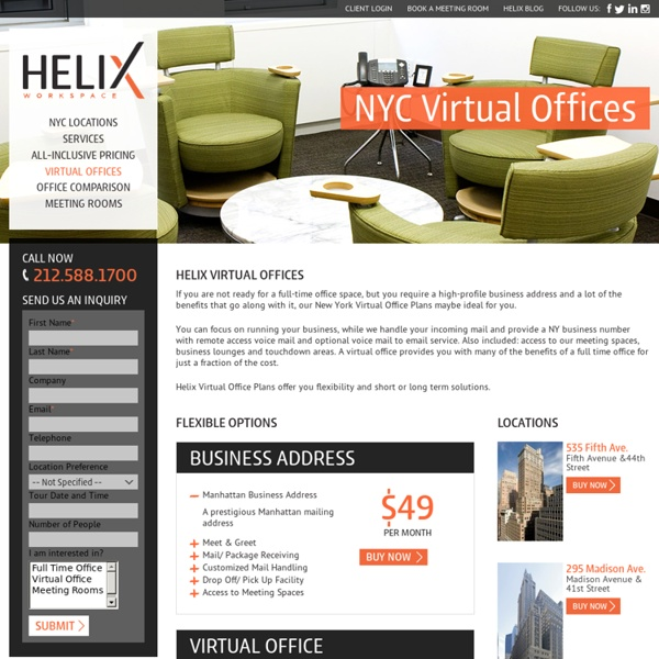 The Best in Virtual Office Features