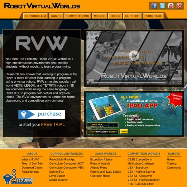 Robot Virtual Worlds