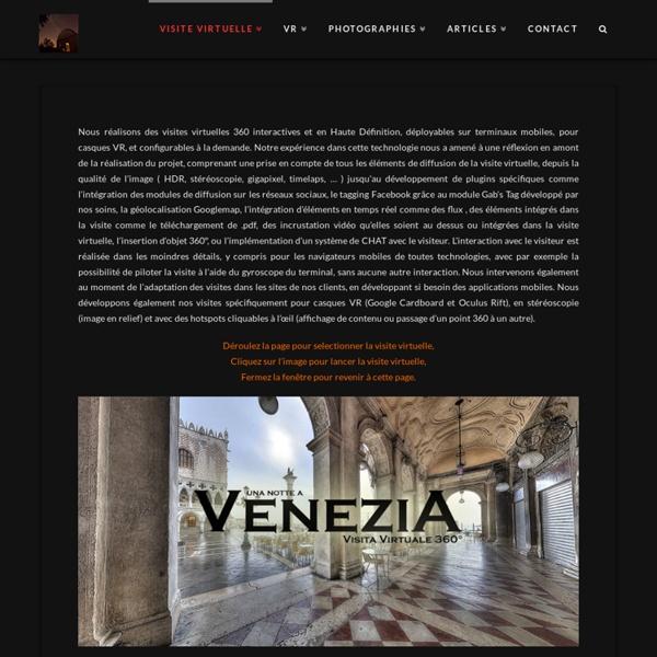 Visite virtuelle - Visites virtuelles 360 interactives