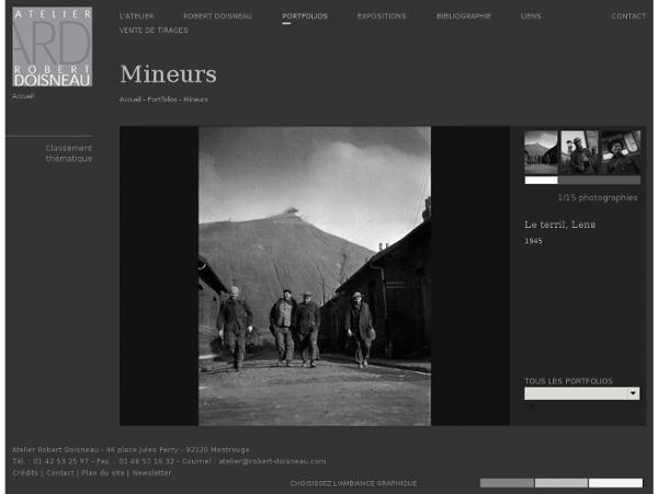 Atelier Robert Doisneau - Mineurs