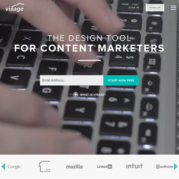 Visage.co - Visual Content Creation Made Simple