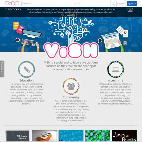 VISH (presentaciones con enlaces)