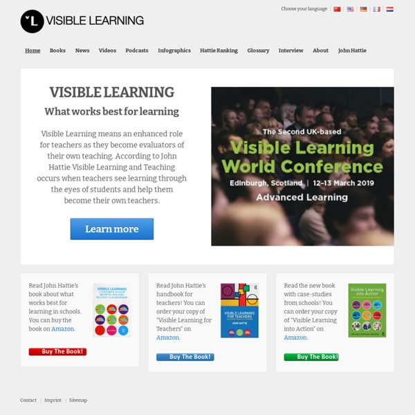 Information About What Works Best For Learning
