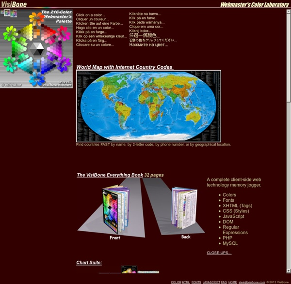 Webmaster's Color Lab
