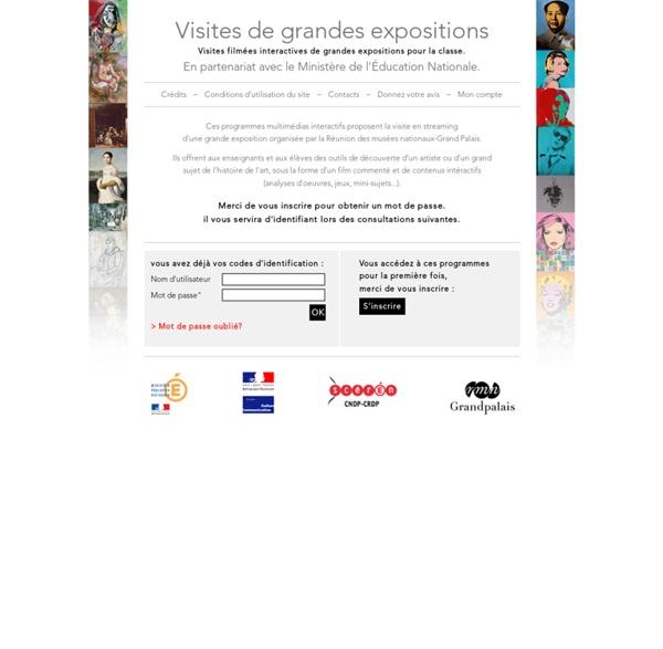 Visite de grandes exposition