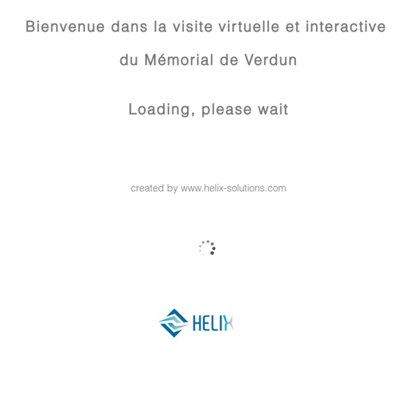 Visite interactive Mémorial de Verdun