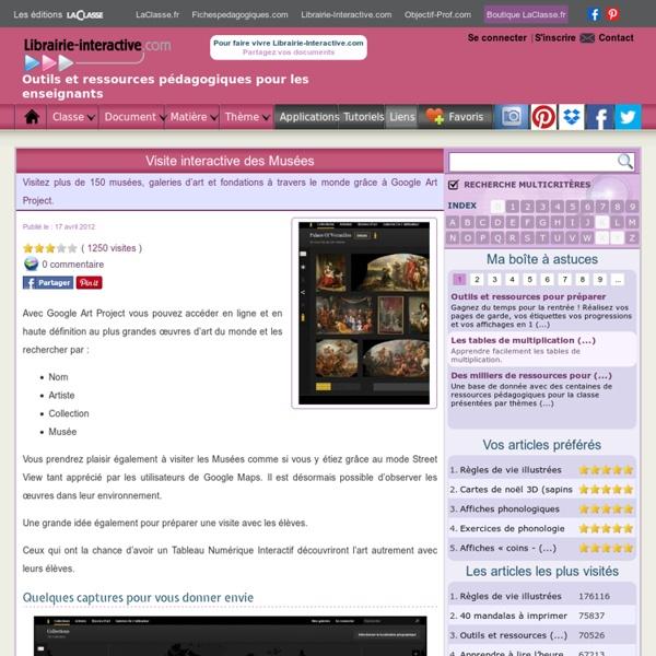 Visite interactive des Musées