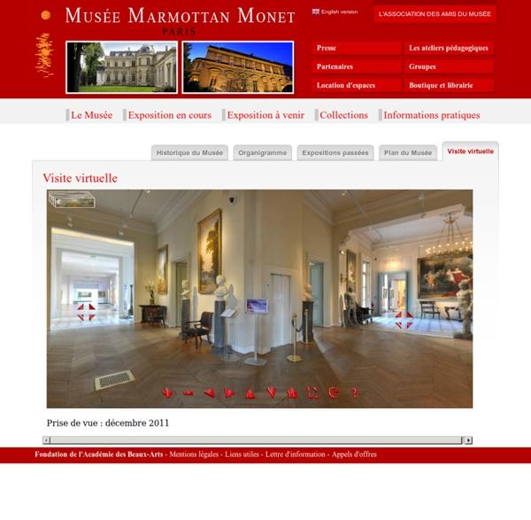 Visite virtuelle Musée Marmottan
