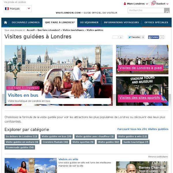 Visites incontournables à Londres